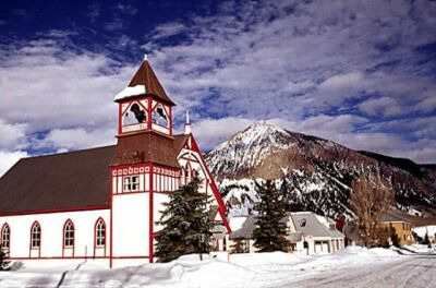 Church in Crested Butte