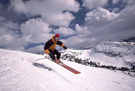 Skiing at Grand Targhee