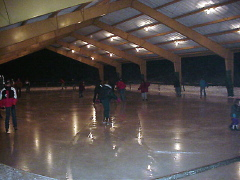 Cloudcroft's Outdoor Skating Rink