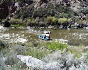 River Rafting down the Rio Grande