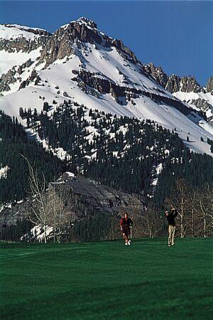 Golfing in Telluride