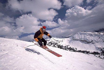 Skiing at Grand Targhee