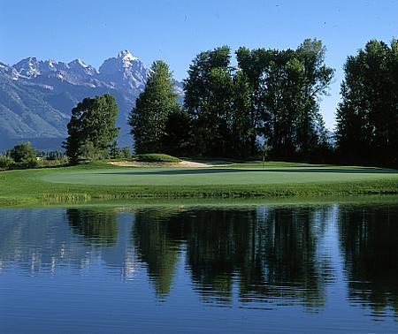 Golfing in Jackson