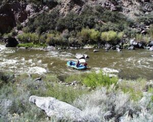 River Rafting down the Rio Grande