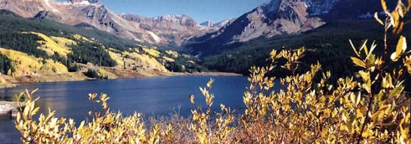 Trout Lake - 12 miles south of Telluride